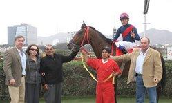 Contenido de la imagen Calypso venció a Amir Khan (Jockey Club del Perú)