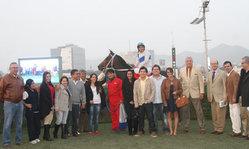 Contenido de la imagen La Azul remató en buena forma (Jockey Club del Perú)
