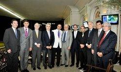 Contenido de la imagen Tercera reunión del consejo directivo de la OSAF (Jockey Club del Perú)