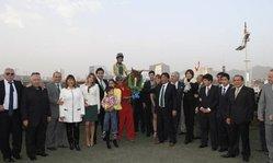 Contenido de la imagen Pablo Falero fue señor en la Polla de Perú con Mr. Rodrigo (Pura Hípica)