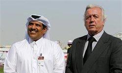 Contenido de la imagen Placer y negocios en el festival hípico de Qatar (La Nación)