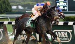 Contenido de la imagen Ever Rider y su primer éxito clásico en USA (Turf Diario)