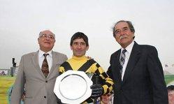Contenido de la imagen Pablo Falero subcampeón en el torneo sudamericano de jockeys en homenaje a Marcel Zarour