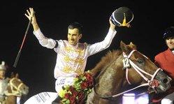 Contenido de la imagen Luis Cáceres, el jockey del año
