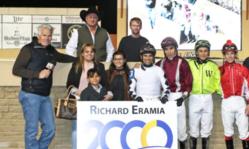 Contenido de la imagen 2000 triunfos para Richard Eramia en Norteamérica